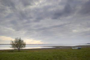 Pláž a kemp na  Paľkove