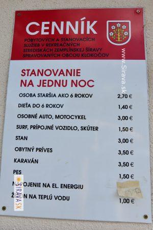 Bazén Klokočov – Šírava