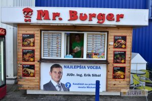 Mr.Burger – Tesco Michalovce