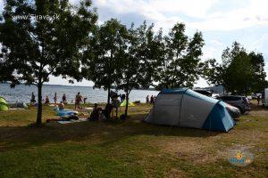 Pláž a kemp Klokočov