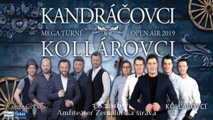 Kandráčovci Mega turné OPEN AIR 2019
