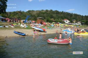 Pláž a kemp Anima