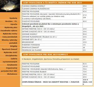 Predaj rybárskych lístkov – Zemplínska šírava / Vinianské jazero
